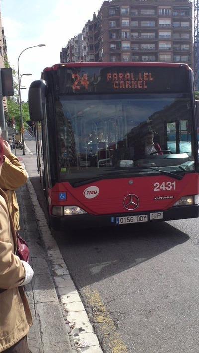 バルセロナのバス