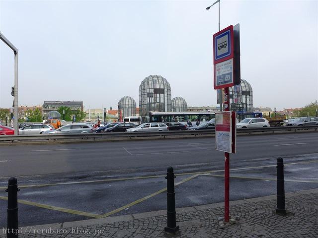プラハ駅エアポートバス乗り場