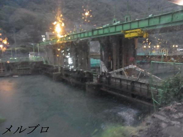 ウルバンバ川のダム