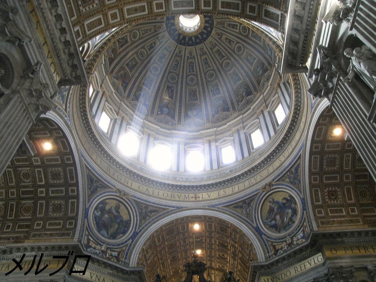 中心の天井