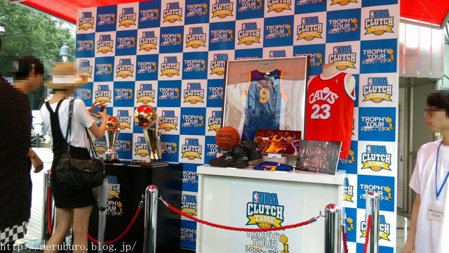 NBA CLUTCH TIMEトロフィーツアー