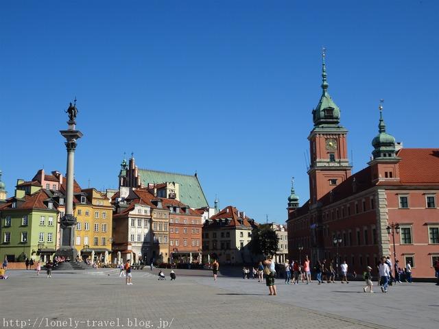 ワルシャワ 旧王宮広場