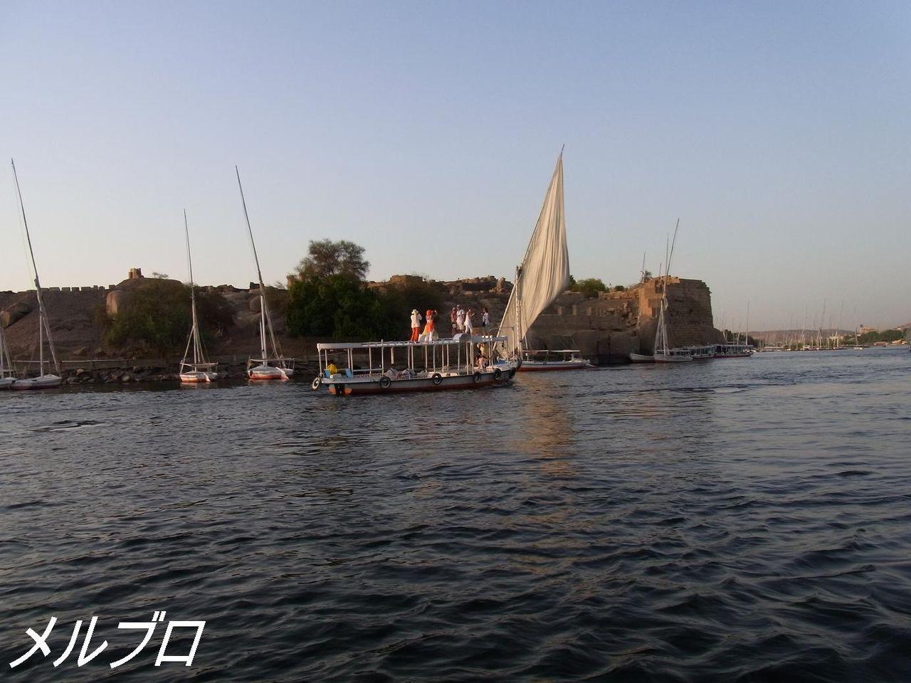 屋根に乗れる船