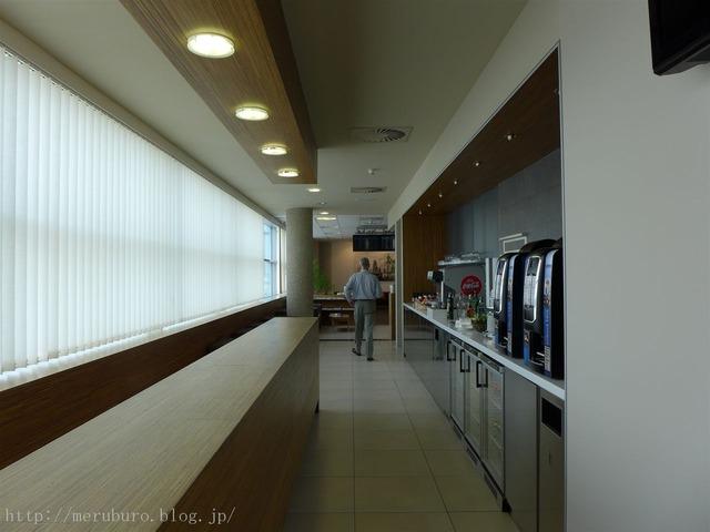 プラハ国際空港のラウンジ