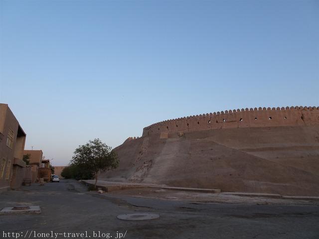 ヒヴァ イチャン・カラ 城壁