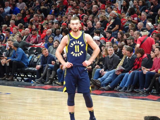 NBA17-18 ペイサーズVSブルズ