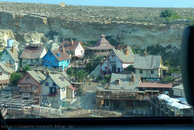 マルタのポパイ村