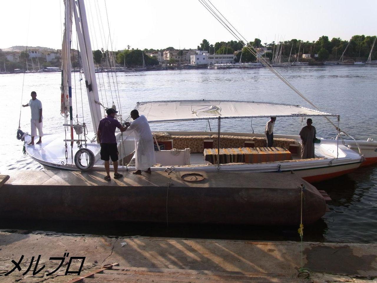帆船ファルーカ