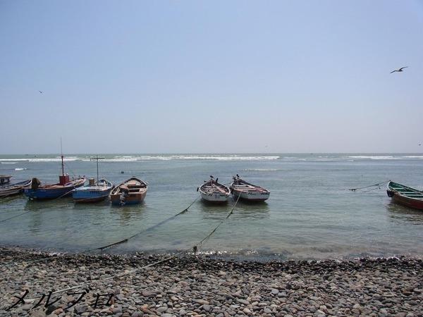 ピスコの海