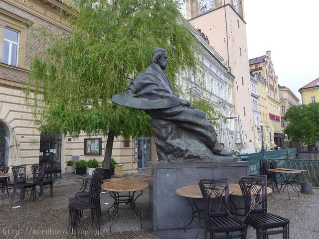 スメタナ像