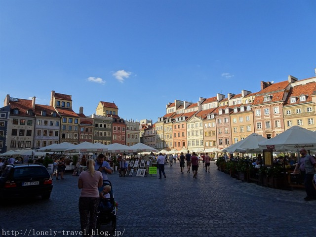 ワルシャワ 旧市街マーケットプレイス