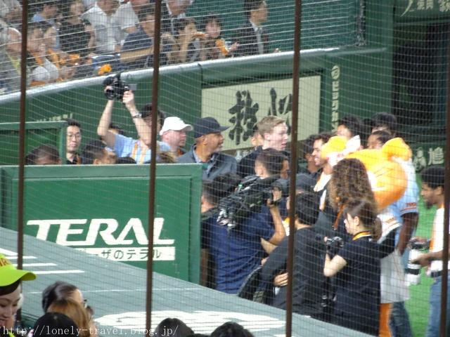 ステフィン・カリー始球式