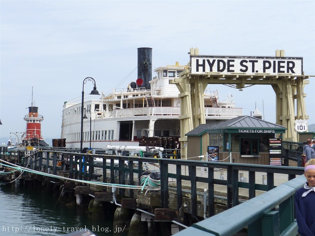 ハイド・ストリート・ピア Hyde Street Pier