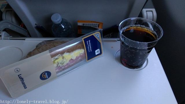 ルフトハンザ航空 軽食