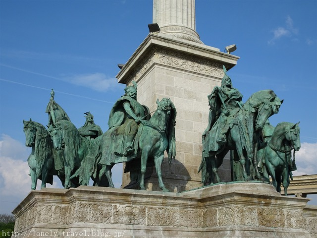 ブダペスト 英雄広場