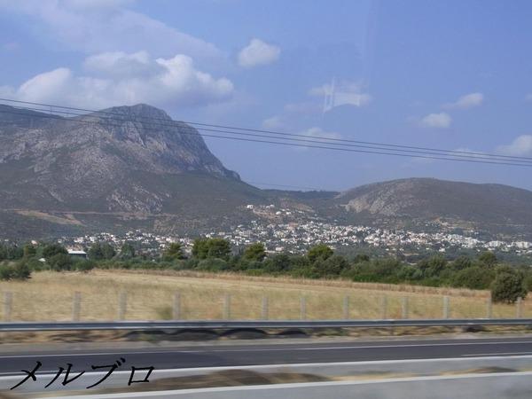 ギリシャの山々