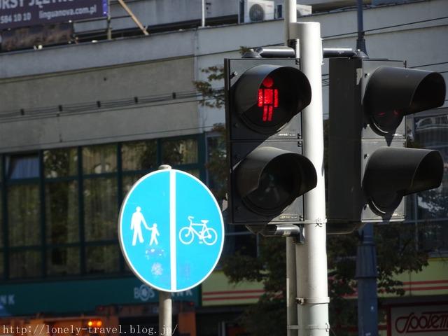 ワルシャワの信号