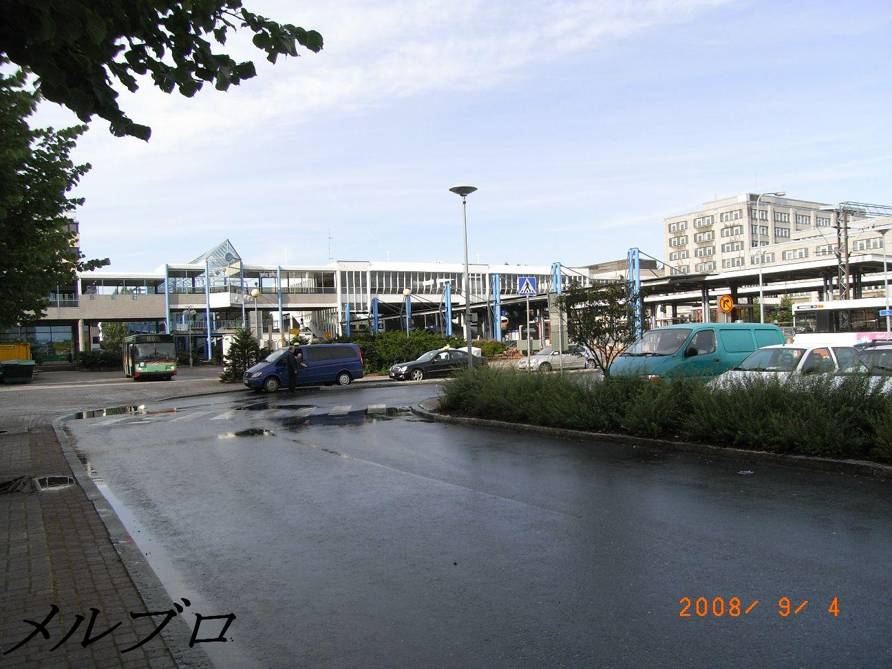 エスポー駅の停留所2