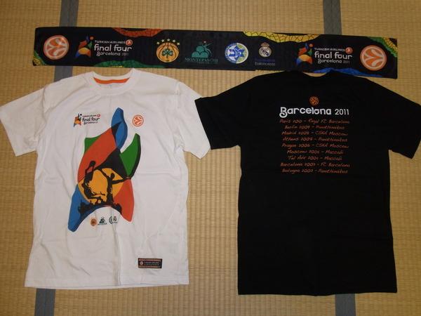 ユーロリーグ ファイナル4Tシャツ