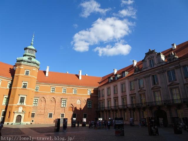 ワルシャワ 王宮