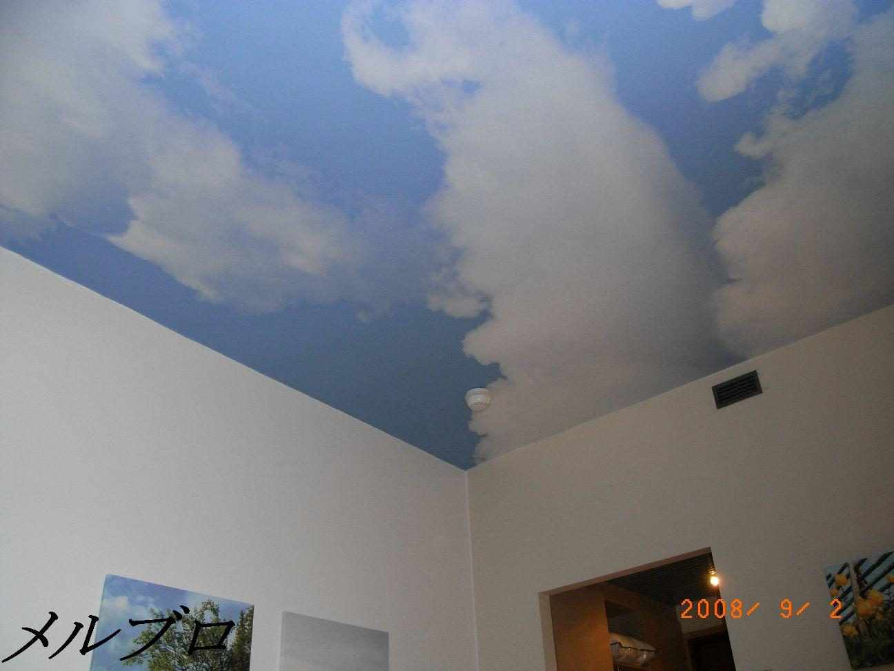 オープンエアーな天井