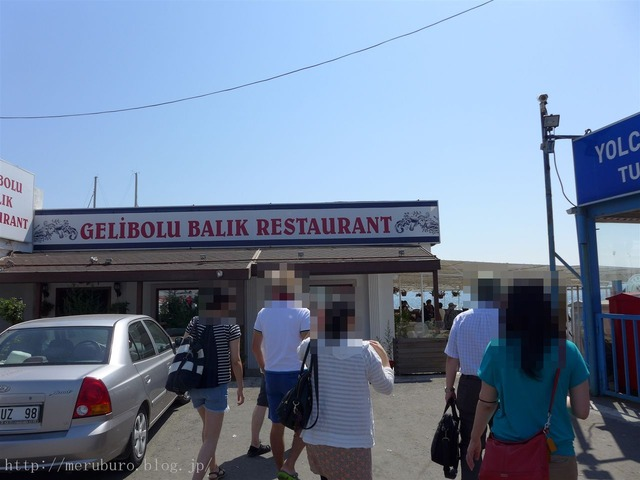 ダーダネルス海峡のレストラン