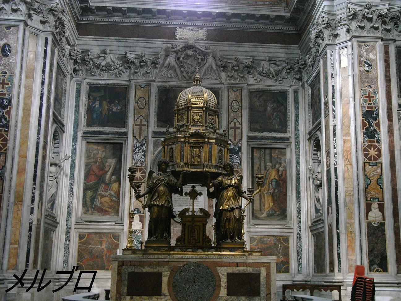 マッジョーレのシスティーナ礼拝堂