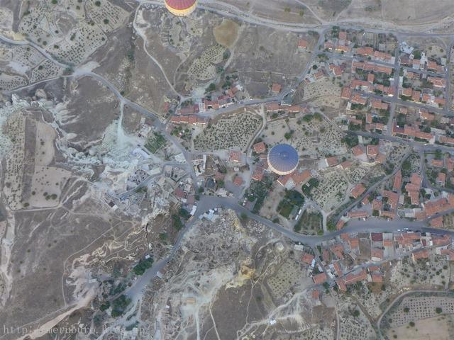 カッパドキアの気球