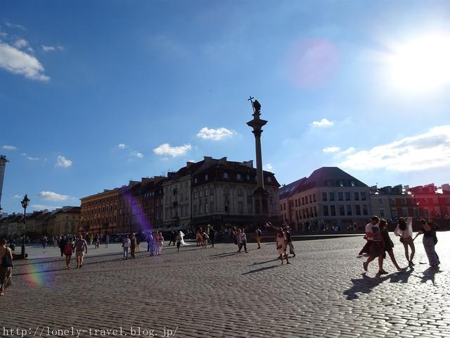ワルシャワ 王宮広場