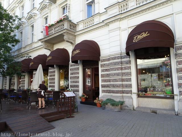 ヴェーデルのカフェ E.Wedel