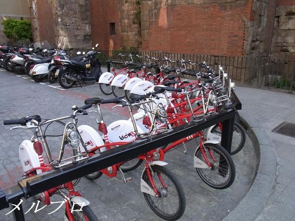 バルセロナの自転車