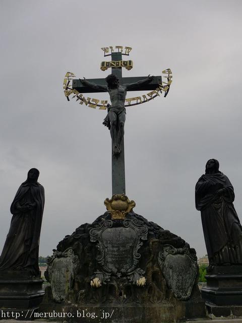 13_ブロンズの十字架像