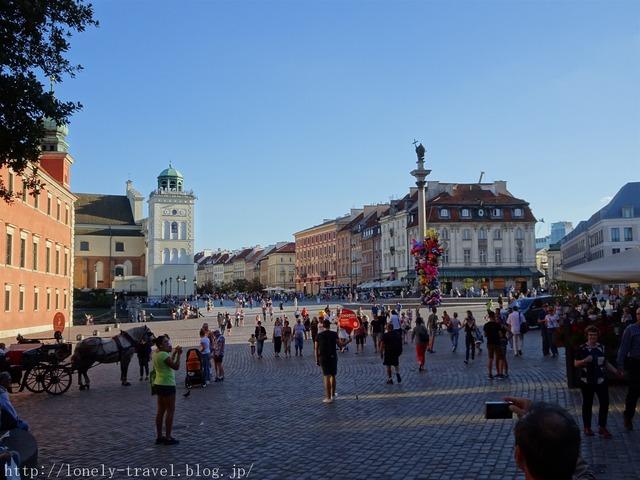 ワルシャワ王宮広場