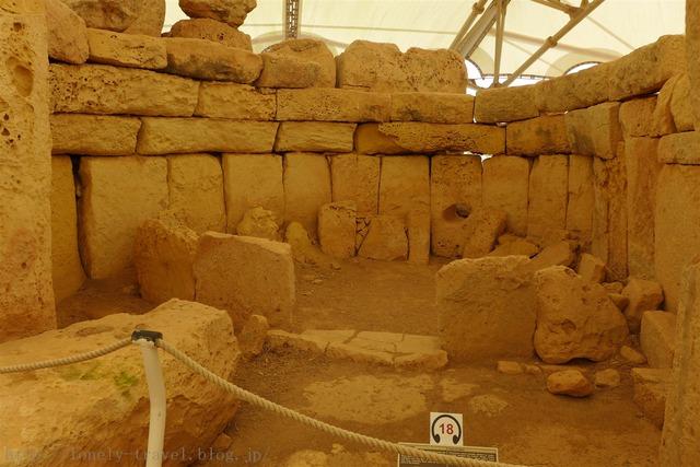 ハジャー・イム神殿 Hagar Qim Temples
