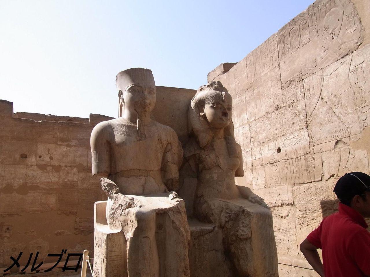 ラムセス2世とネフェルタリ