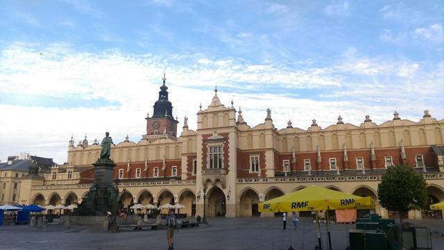 クラクフの中央広場