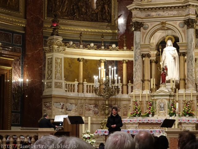 聖イシュトヴァーン大聖堂のオルガンコンサート