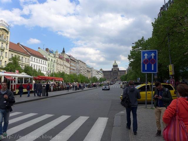 ヴァーツラフ広場