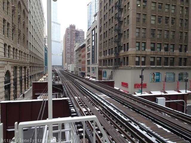 シカゴの高架鉄道
