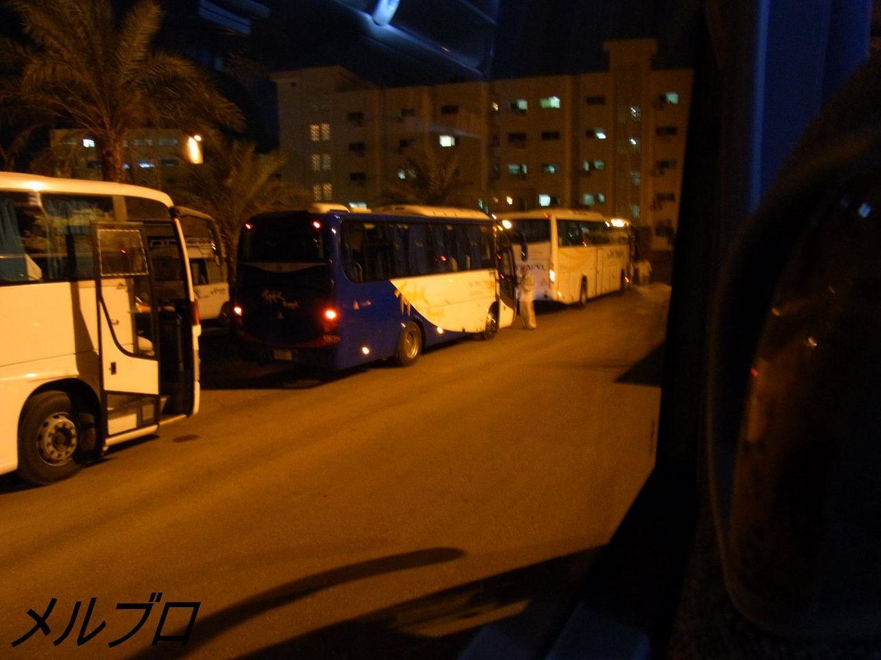 たくさんのバス