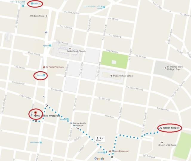 タルシーンの地図