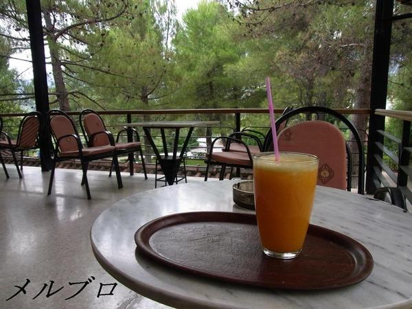 ギリシャのオレンジジュース
