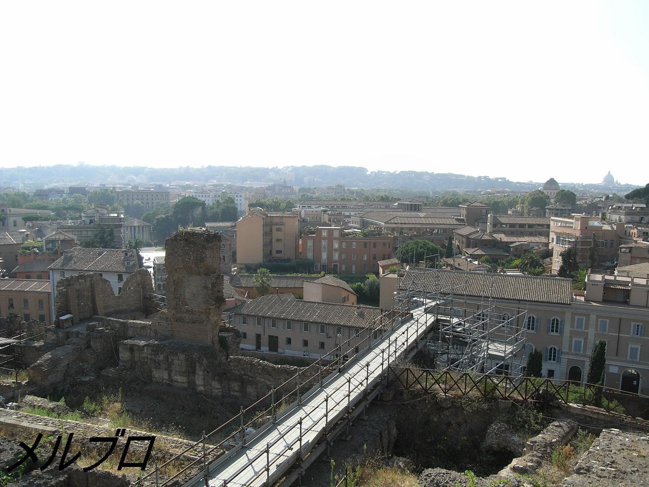 ジャニコロの丘とサン・ピエトロ