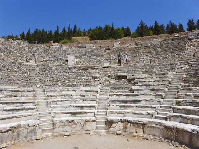 エフェソスの遺跡