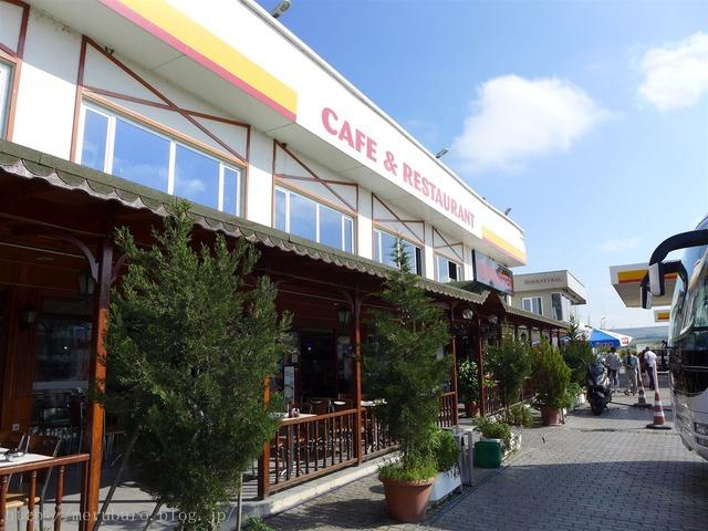 トルコのサービスエリア