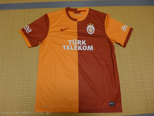 トルコのお土産 ガラタサライTシャツ