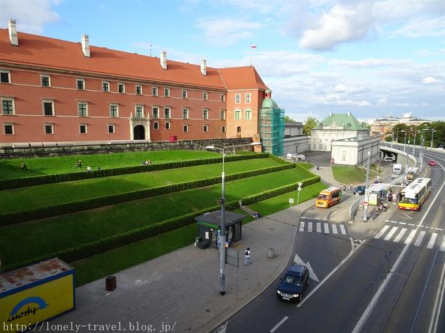ワルシャワ 王宮前広場