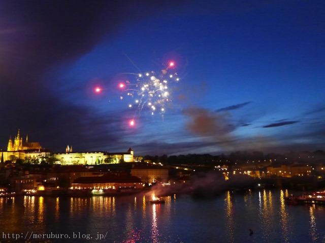 プラハの花火