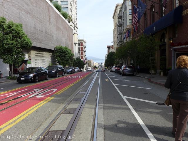 サンフランシスコのケーブルカー4