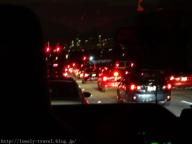 ロサンゼルスの大渋滞